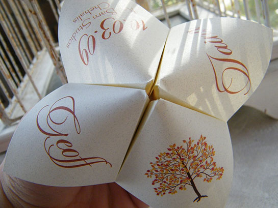 Origami Wedding Invitation: Dress Your Home And Wedding With Origami