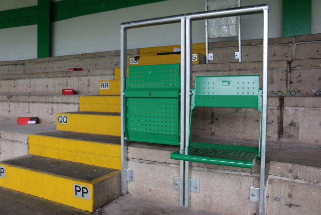 tecnologia rail seating celtic park