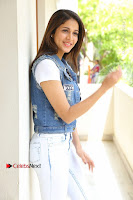 Telugu Actress Lavanya Tripathi Latest Pos in Denim Jeans and Jacket  0095.JPG