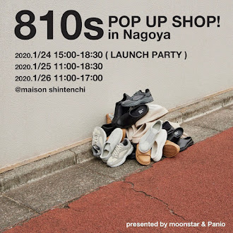810s POP UP SHOP