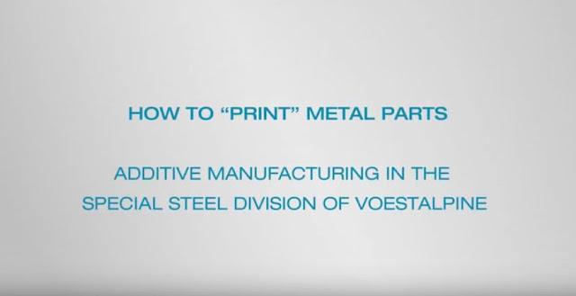 Voestalpine 3D printing