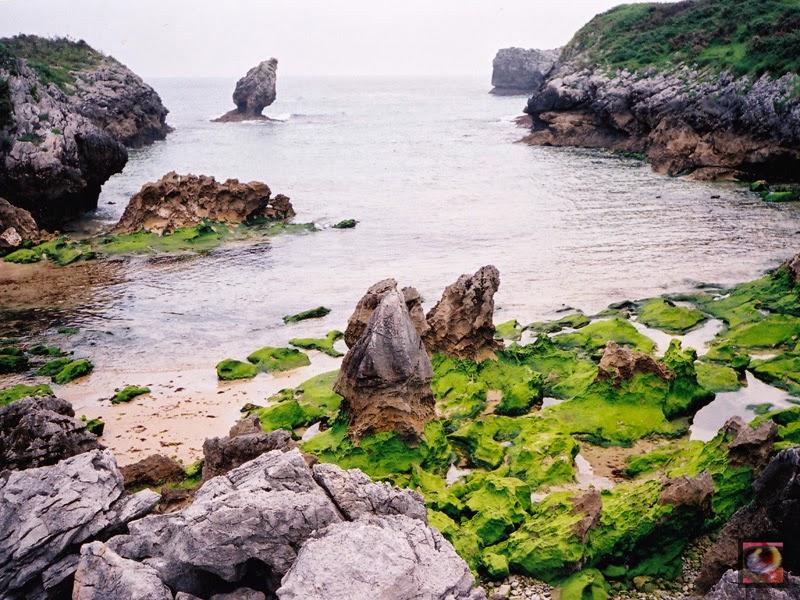 Playa de Buelna en Llanes (Asturias)