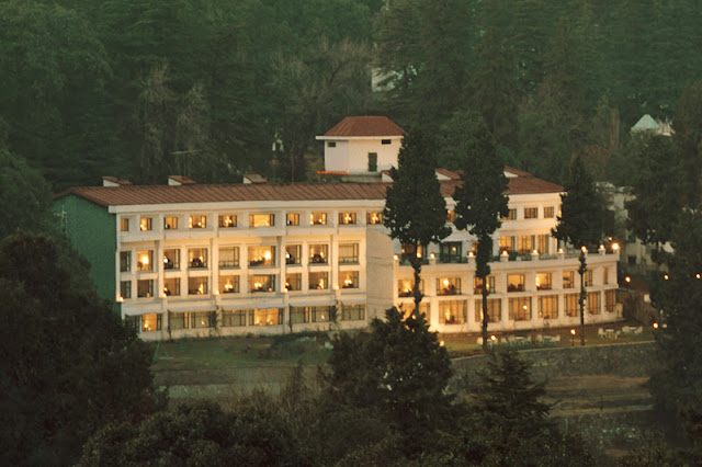 The Manu Maharani Hotel Nainital, Uttarakhand is a five star property.