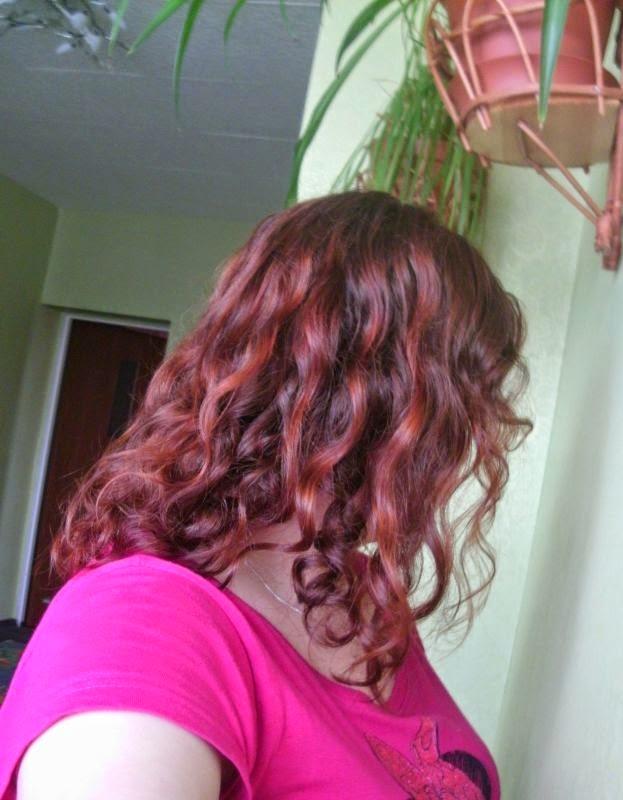 Niedziela dla włosów - balsam venity - zmiana koloru na miedziany ;)