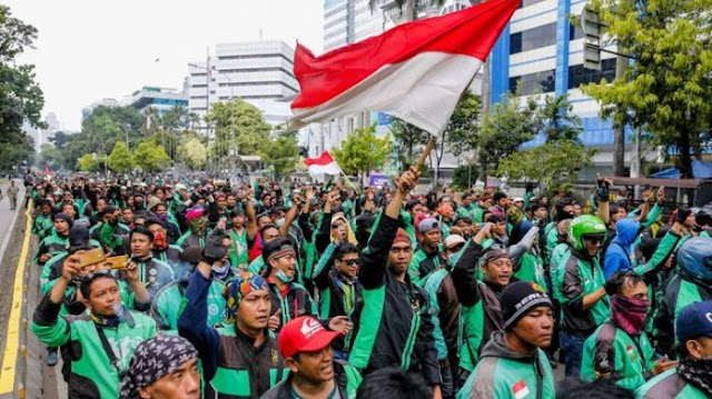 Kelompok Tukang Ojek Tuntut Prabowo Minta Maaf
