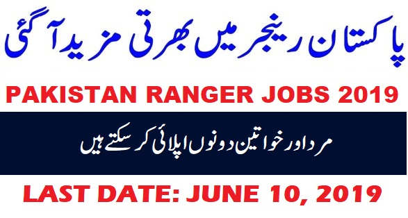 Pakistan Rangers Latest Jobs
