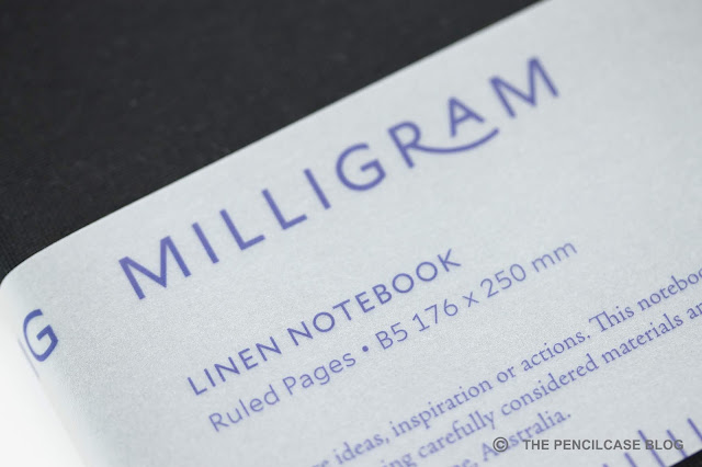 My favorites of 2018: Milligram Studio Linen notebook