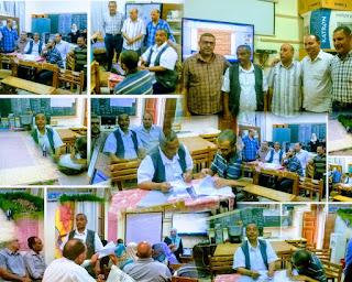 الحسينى محمد , ورشة عمل تنمية مهارات التخطيط للقيادات التربوية,ادارة بركة السبع التعليمية,الخوجةوبركة السبع