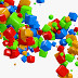 Colorful Block 3D Abstract movies backgrounds photos