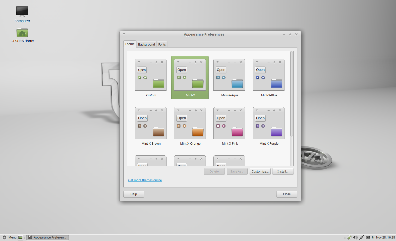 Linux Mint 17 1 `Rebecca` Available For Download ~ Web