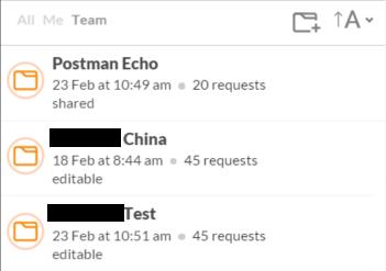 Postman Get Team APIs
