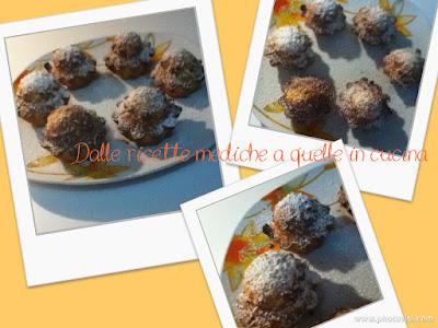 muffin alla banana al cioccolato e cocco