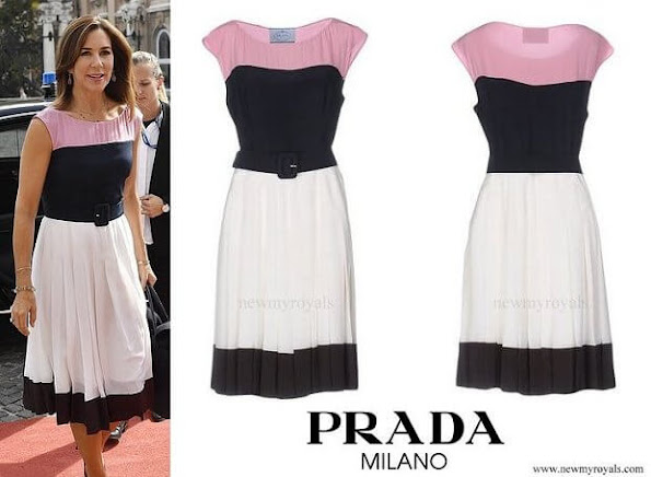 Princess Mary wore Prada dress