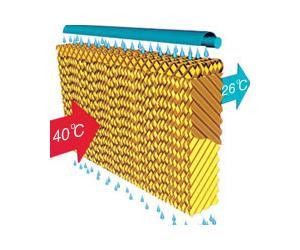 Phương thức hạ nhiệt độ của tấm làm mát