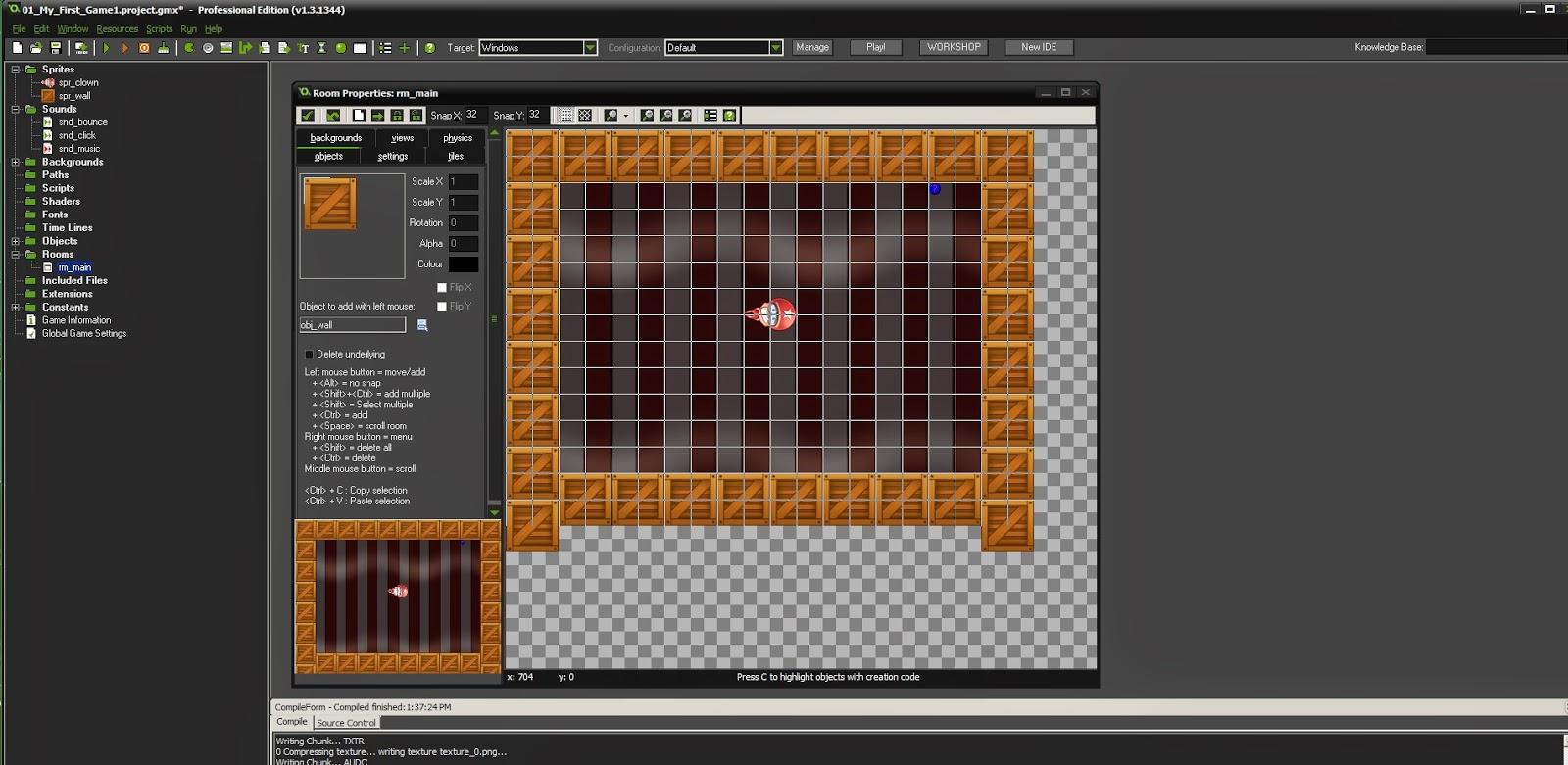 First impressions gamemaker studio gamemaker studios tutorial game catch the clown baditri Gallery