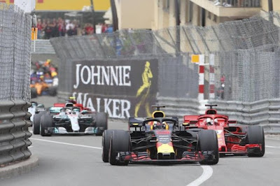 Formula 1 Monaco GP radio messages
