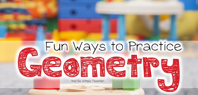 Lots of fun activities and freebies for teaching geometry!