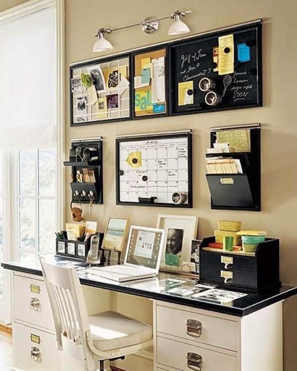 decoración oficina pequeña casa