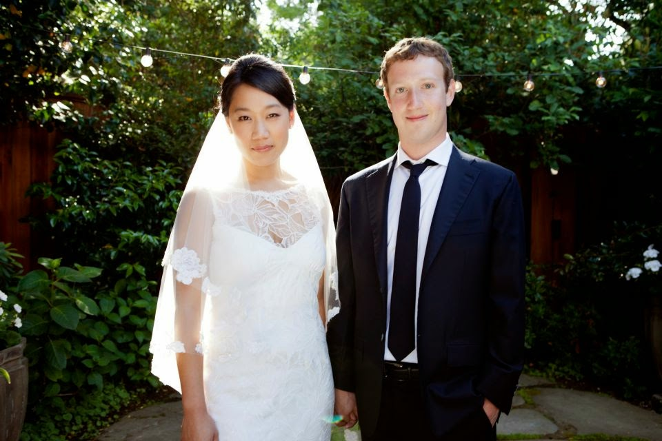 Mark Zuckerberg mujer