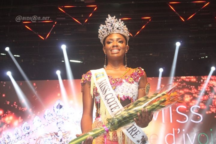 miss cote d'ivoire 2018 winner Mary Danielle Suy Fatem