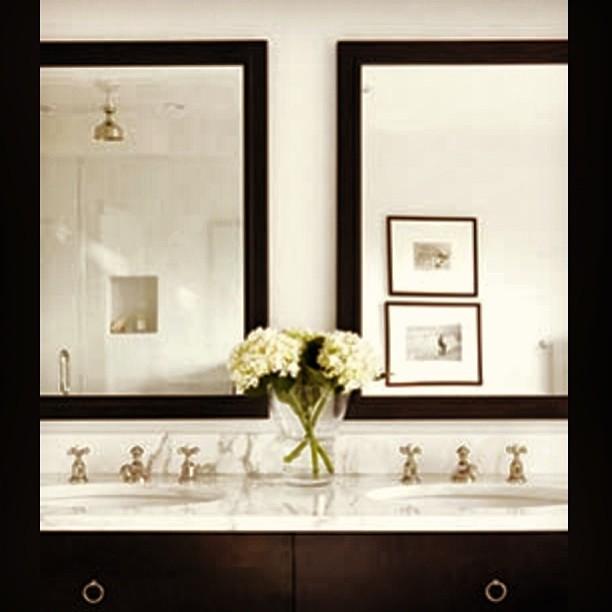 black and white bathroom inspiration