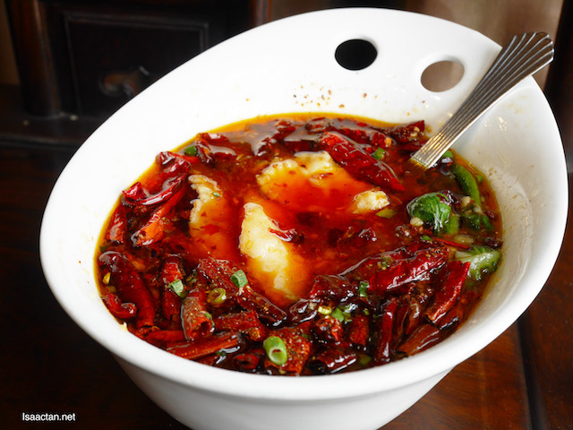 Fish Fillet in Hot Chili Oil