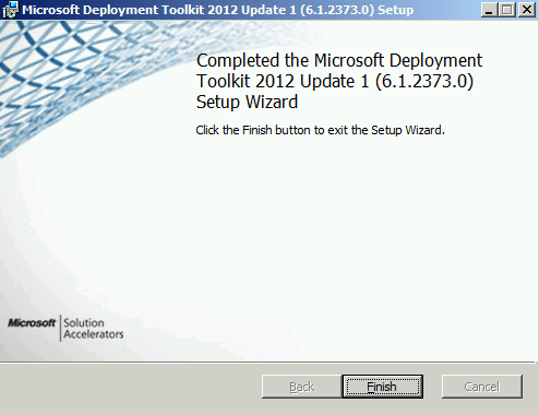 Terry L@u's blog: Installing and Configuring WDS and MDT 2012 Update