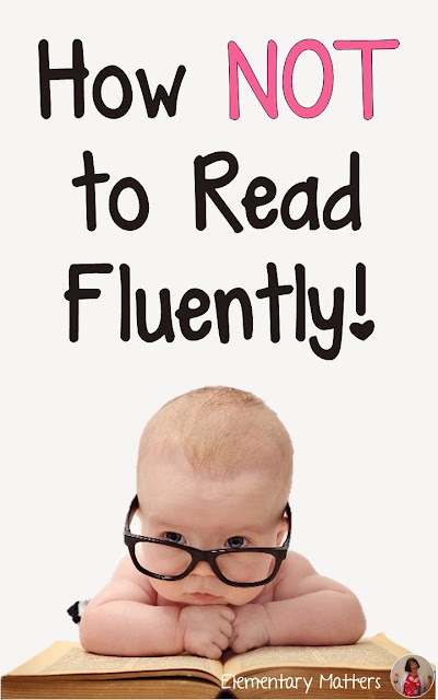 This blog post tells about an activity that can be repeated numerous times, that the kids love, and that gets them thinking about fluency.
