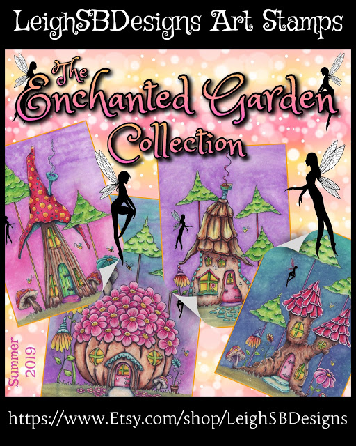 The Enchanted Garden Collection by LeighSBDesigns
