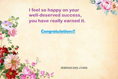 Congratulation Wishes