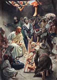 Estudio Biblia: MATEO 9:1-17. Sanidad del paralítico y Llamado de ...