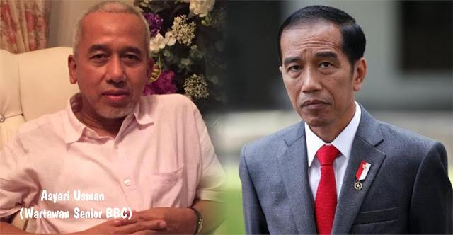 JLEB! UU ITE Bermutasi Jadi UU Subversi, Asyari Usman: Pengkritik Mulai Takut Sebut Nama Jokowi, Takut Ditangkap