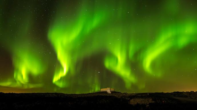 Wallpaper: Natural Sky. Aurora. Northern Lights