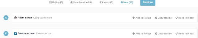 Gmail Unroll.ME