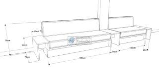 Custom Sofa Sesuai Pesanan - Sofa Menyatu Dengan Meja