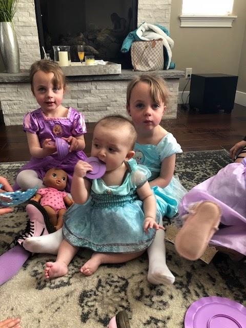 toddler princess tea party