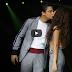Daniel Padilla kisses Kathryn Bernardo at Bench 'Under The Stars' show