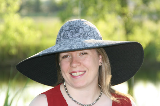The Cote d'Azur Sun Hat pattern is now available!
