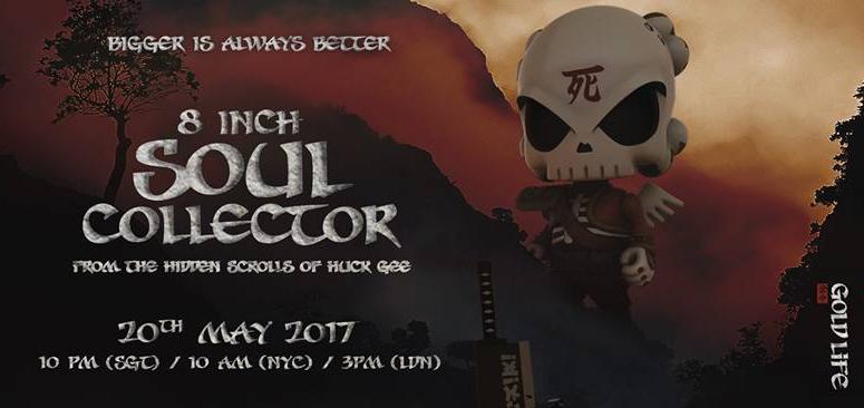 Huck Gee Soul Collector Vinyl designer figure Limited Edition