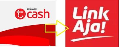cash dan isi paket internet menggunakan layanan T T-Cash berubah Menjadi Linkaja mulai 21 Februari 2020 sehingga T-cash tidak bisa di akses