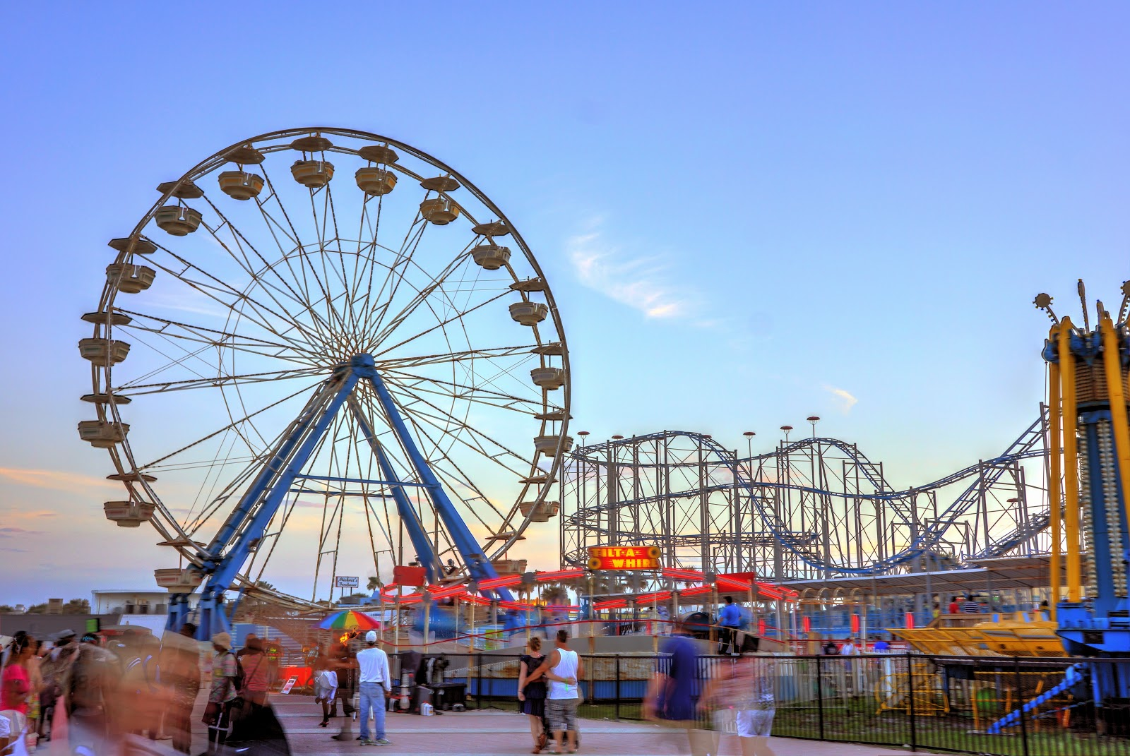 Daytona Beach Boardwalk Ferris Wheel The Best Beaches In World