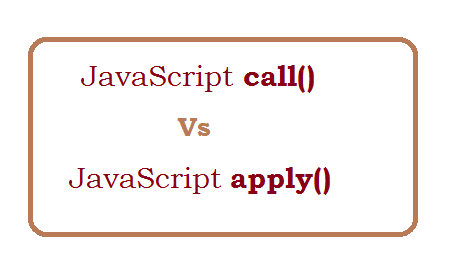 What is the difference between call and apply in javascript?