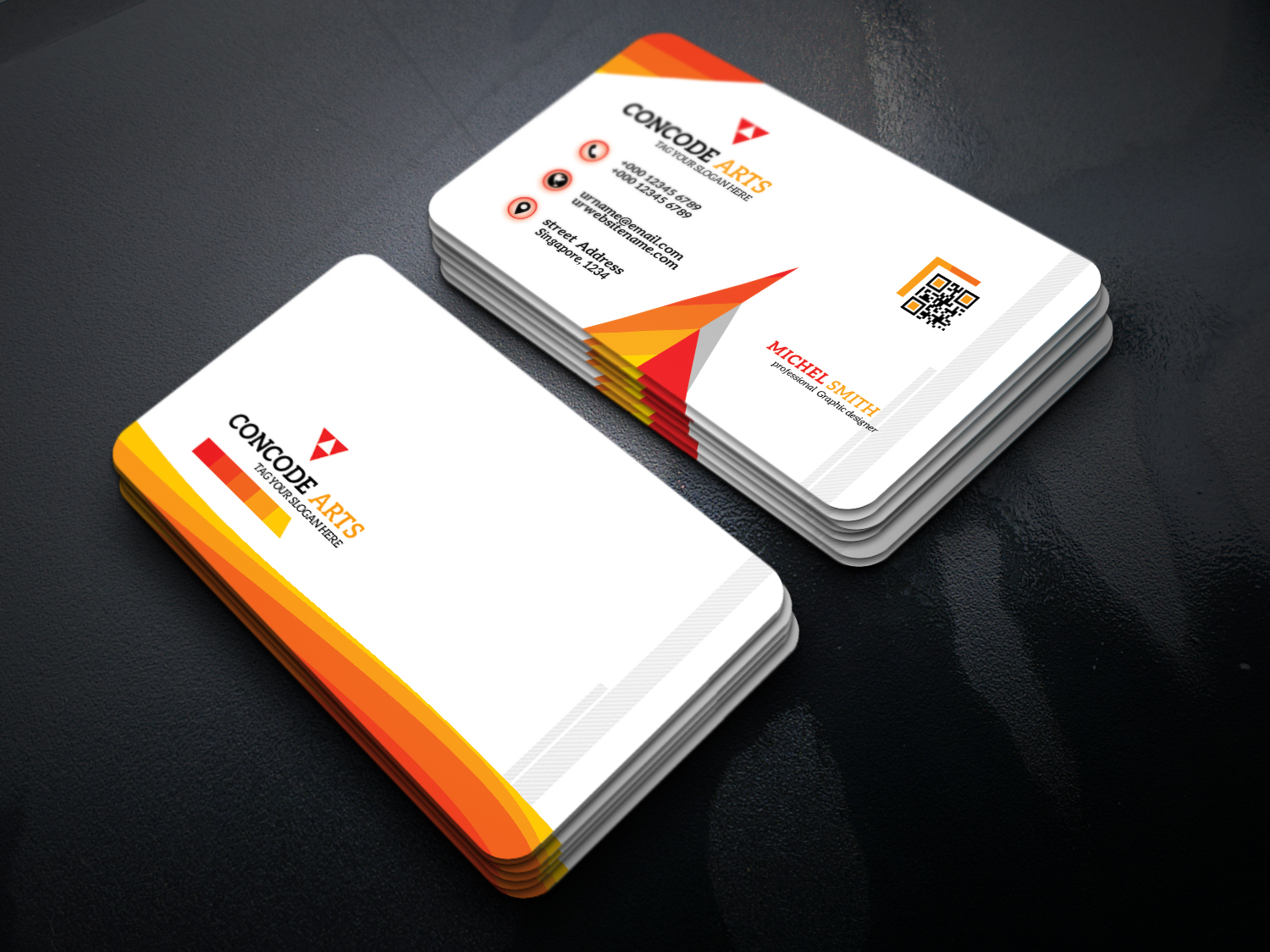 free download business cards vol 82  professional