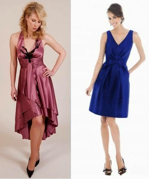 modelos de vestidos curtos formais