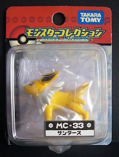 Jolteon figure renewal version Takara Tomy Monster Collection MC series