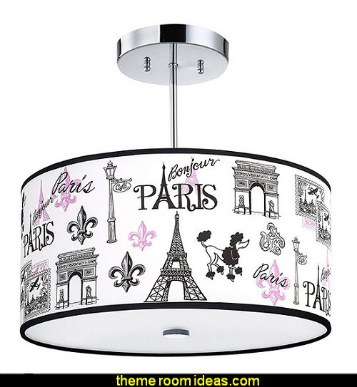C'est La Vie, Paris Light Fixture