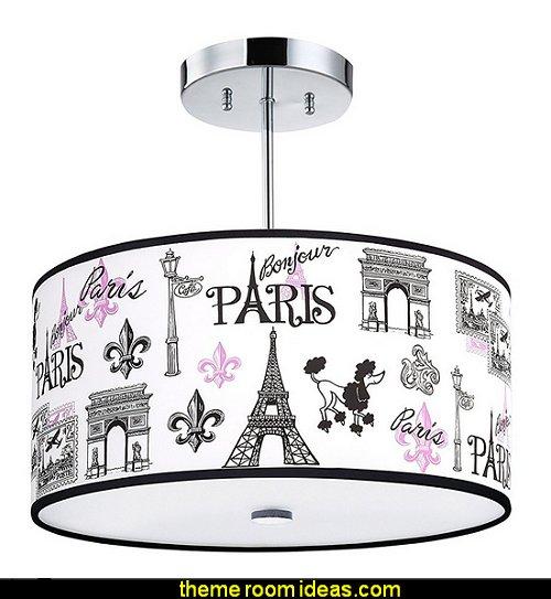C'est La Vie, Paris Light Fixture