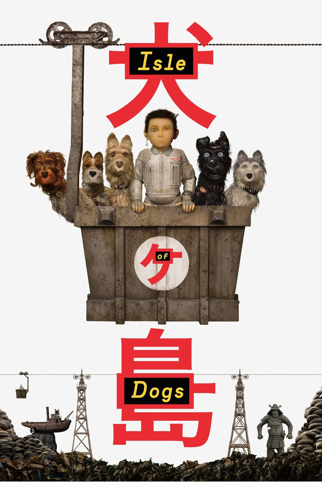 Isle of Dogs [2018] [DVDR] [NTSC] [Latino]