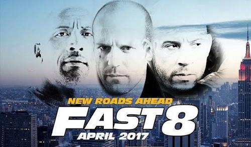 The Fate of Furious Movie trailer poster
