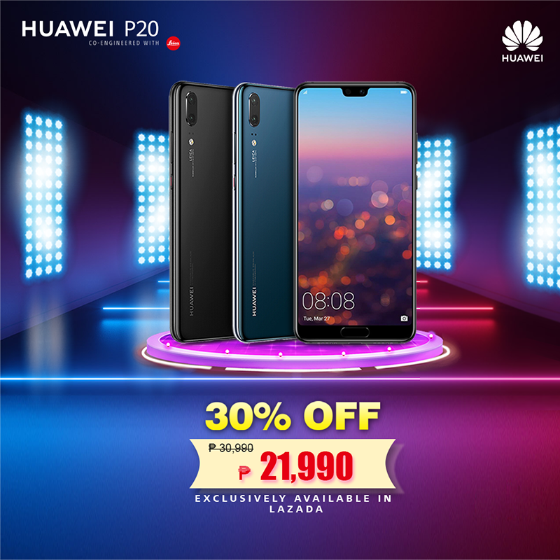 Sale Alert: Huawei P20 will be priced at just PHP 21,990 from Jan 14 to 16!